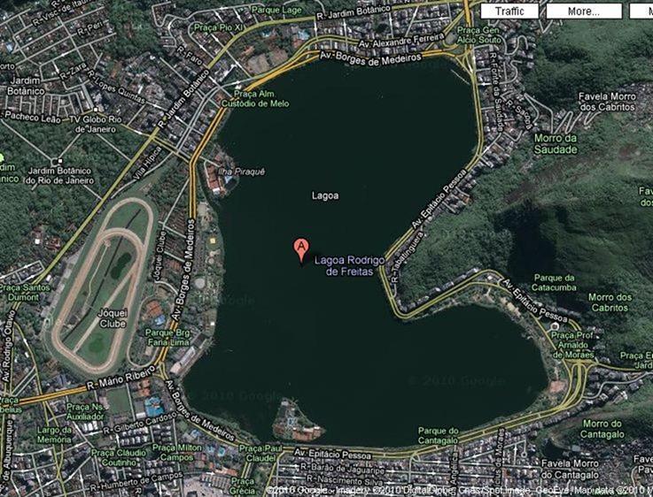 Lagoa Rodrigo de Freitas - Imagem Google