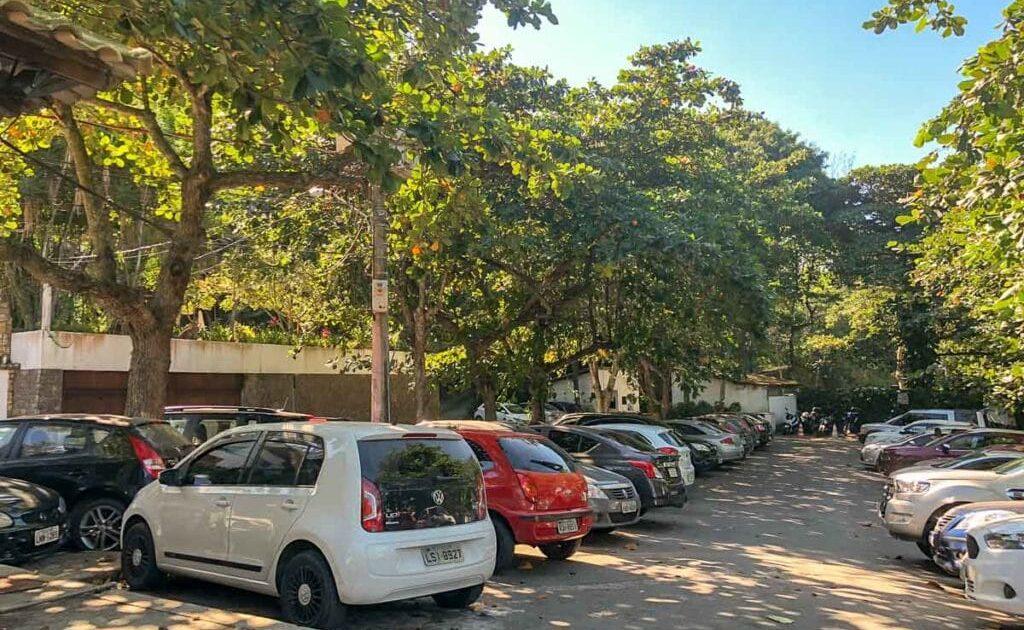 Estacionamento da Praia da Joatinga