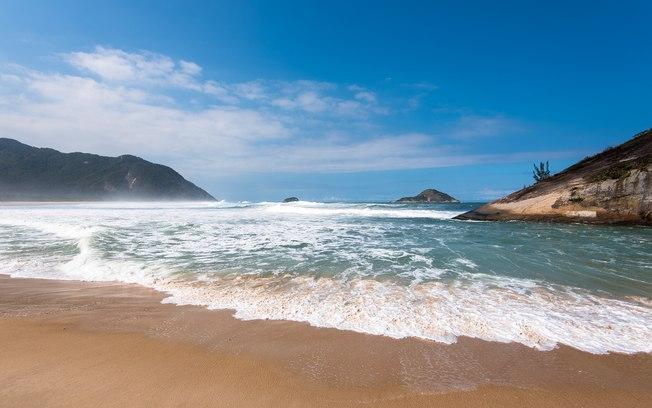 Vista da Praia de Grumari