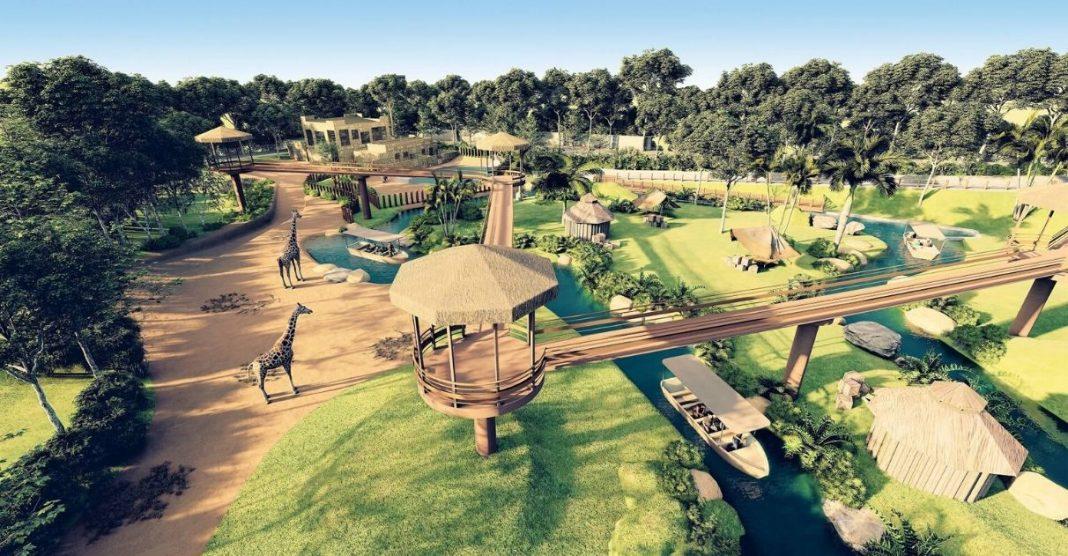 BioParque é um novo conceito de zoológico.