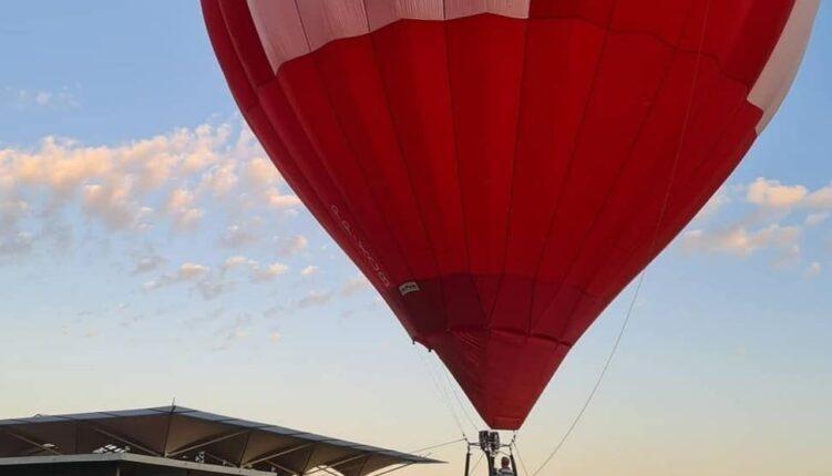 voar de balão no Rio